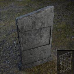 Thumbnail: Tombstone Rectangular