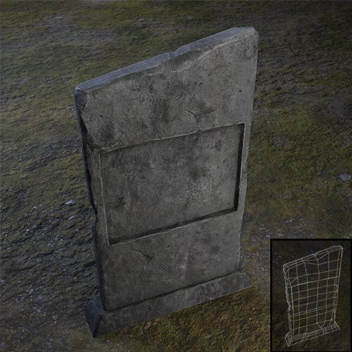 Thumbnail: Tombstone Rectangular