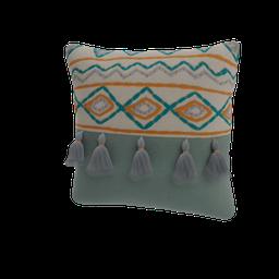 Thumbnail: Decorated cushion