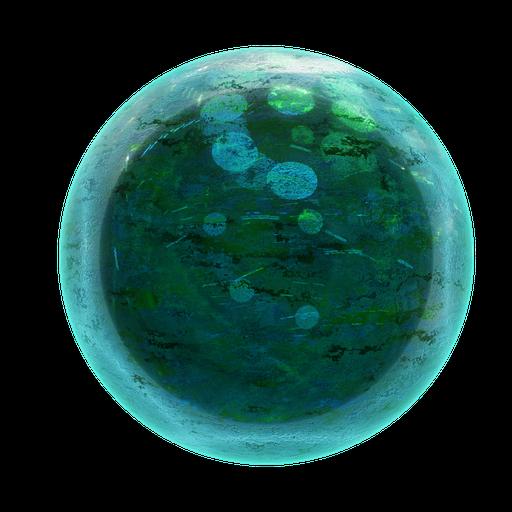 Thumbnail: Procedural Decorative Glass