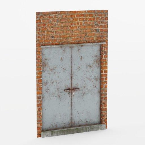 Thumbnail: Wall door double 2x3