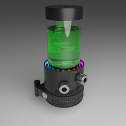Thumbnail: EK Water Blocks EK-XRES 140 Revo D5 RGB PWM Incl Pump