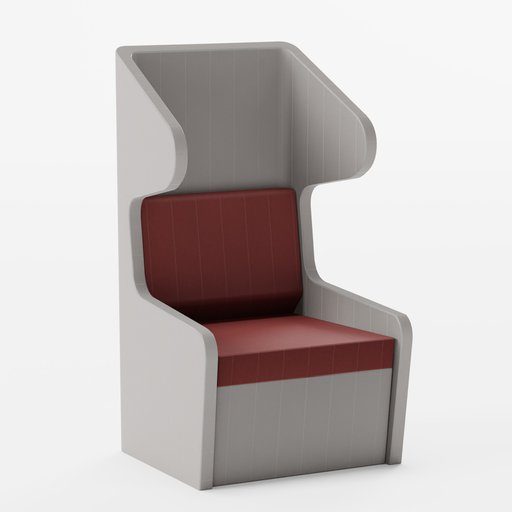 Thumbnail: Winged Office Chair