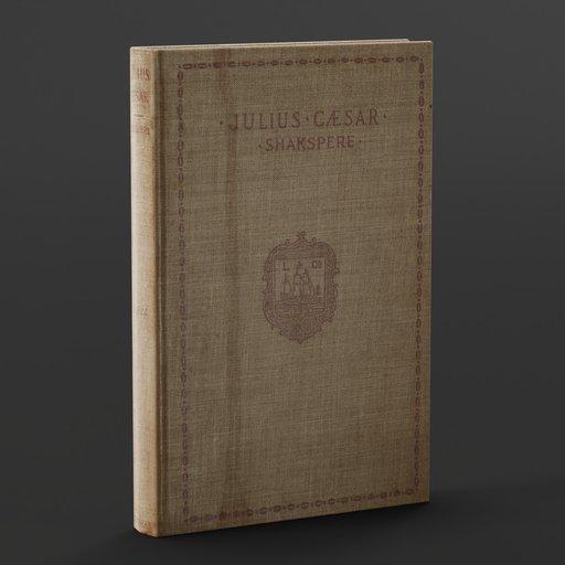Thumbnail: Old Book: Julius Caesar - Shakespeare
