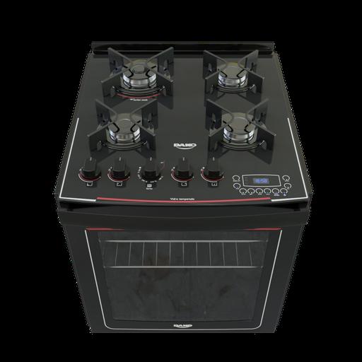 Built-in 4 burner stove Dako display digital