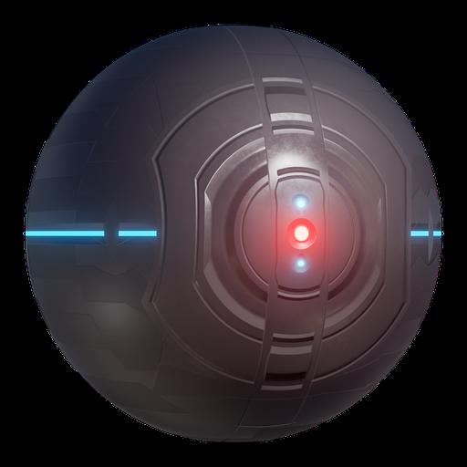 Thumbnail: Procedural Sci-fi Drone Shader