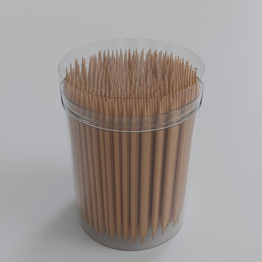 Thumbnail: Wood toothpicks