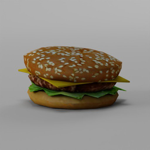 Thumbnail: Low Poly Burger