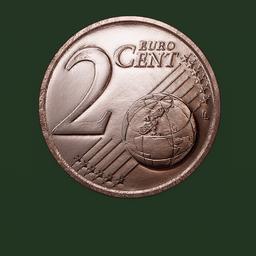 Thumbnail: Euro Coin, 2 cent