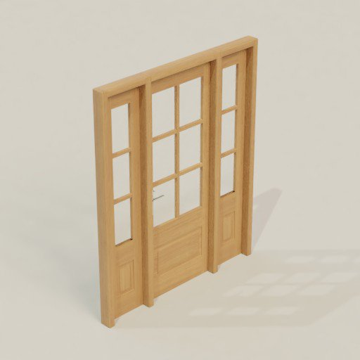 Thumbnail: House Door 180 x 12 x 216