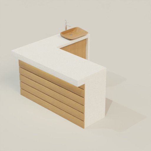 Thumbnail: Kitchen Set 150x140x85