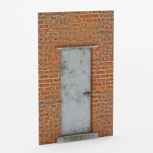 Thumbnail: Wall door small 2x3
