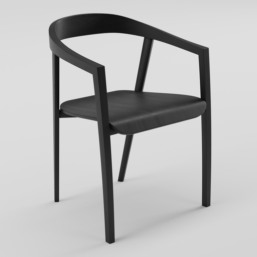 Thumbnail: CHAIR WOOD by Zilio Aldo