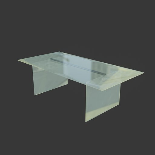 Thumbnail: Office glass table