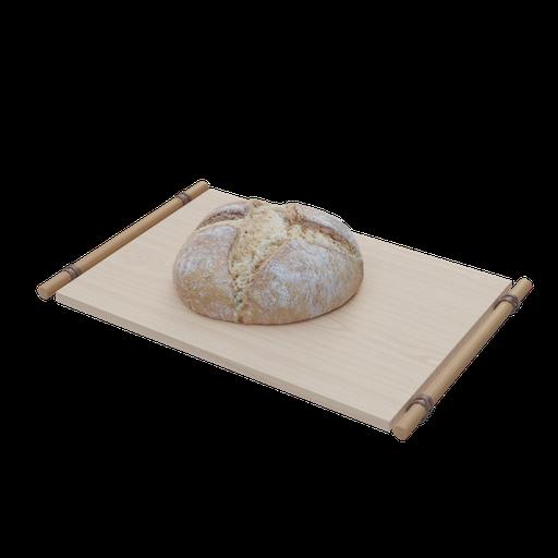 Thumbnail: Blender Guru's bread