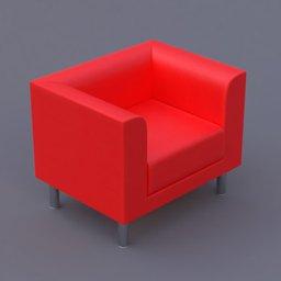 Thumbnail: favara I armchair red