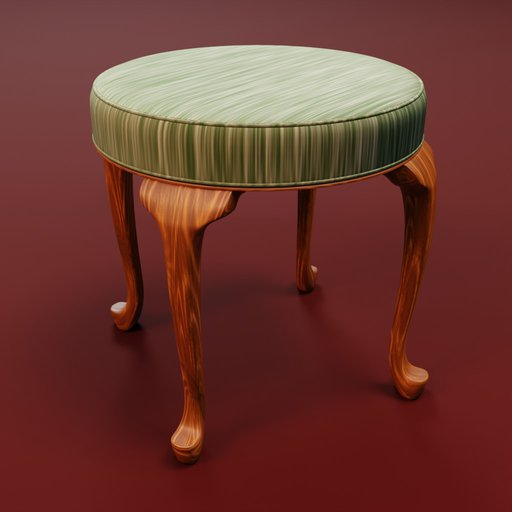 Thumbnail: Baroque stool