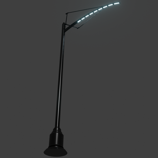 Thumbnail: SciFi Street Light