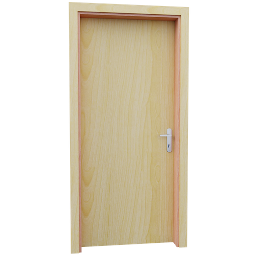 Thumbnail: Internal wooden door - Pine - 90 cm