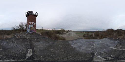 Rural Graffiti Tower