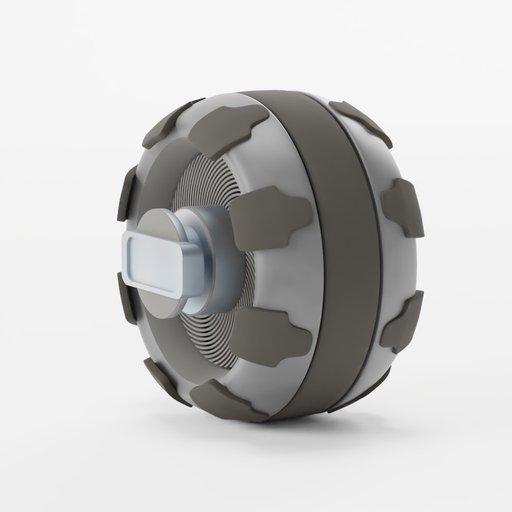 Thumbnail: Rover wheel