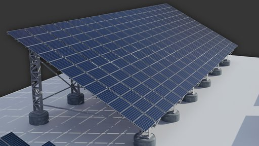 65kw Solar Panels Structure