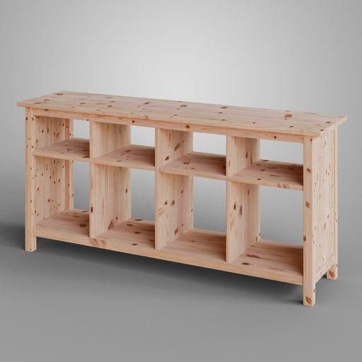IKEA HEMNES Console Natural Wood