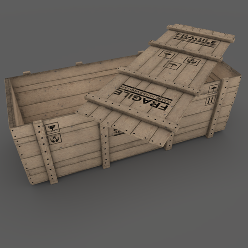 Wooden Box 02 Open Version