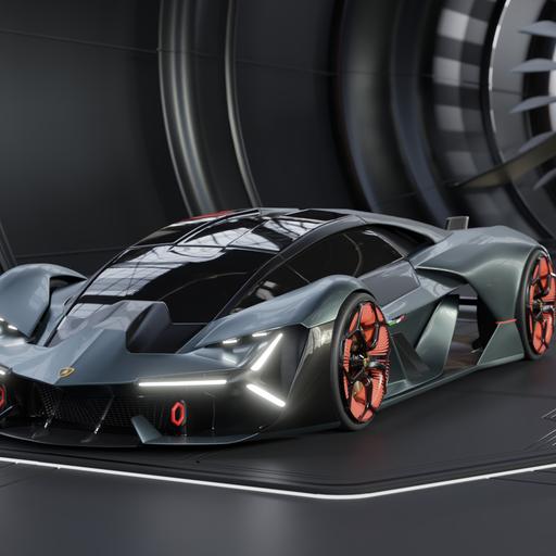 Thumbnail: Lamborghini Terzo Millennio