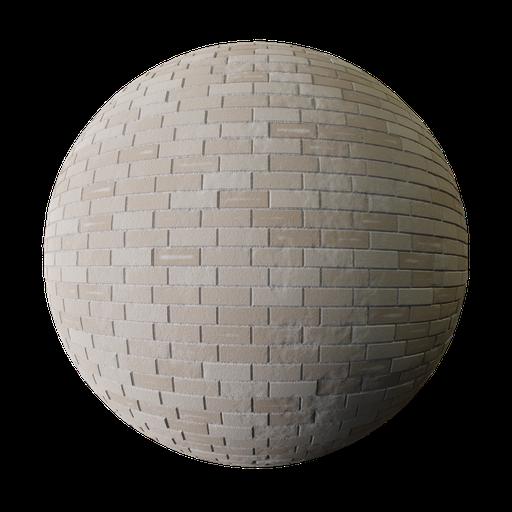 Thumbnail: Procedural cream bricks