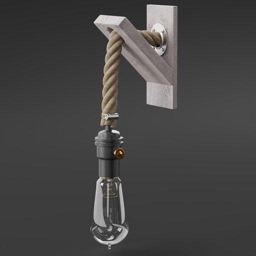 Thumbnail: Shack lamp