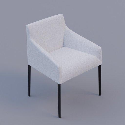 Thumbnail: fabric armchair