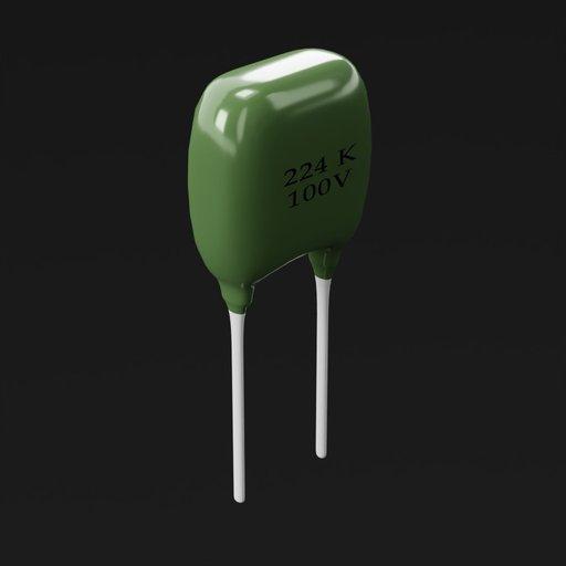 Thumbnail: Capacitor ceramic 224k