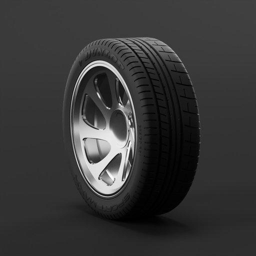 Thumbnail: Car weel 325/30 R21 DUNLOP sport maxx/Joboline