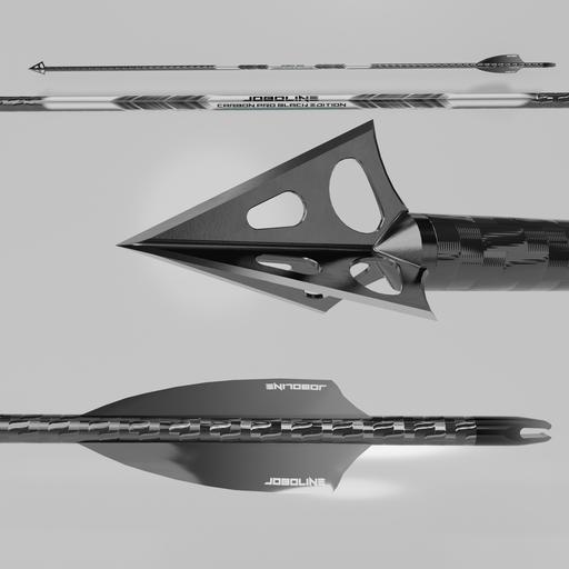 Hunting arrow Joboline Black edition