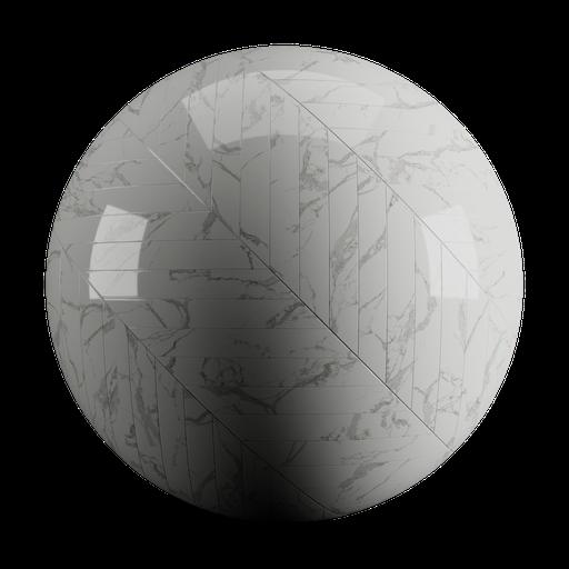 Marble Tiles Chevron