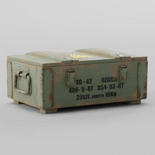 Ammunition Box RG-42