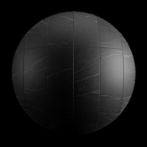 Thumbnail: Ceramic Black Tiles Square