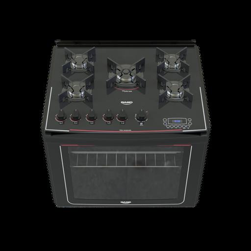 Built-in 5 burner stove Dako display digital