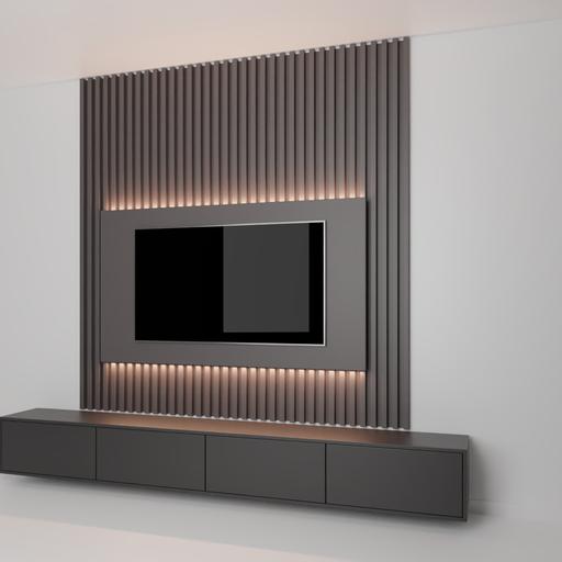 Thumbnail: Modern Tv wall