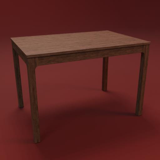 IKEA EKEDALEN table 120 wood