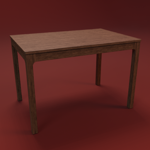 Thumbnail: IKEA EKEDALEN table 120 wood