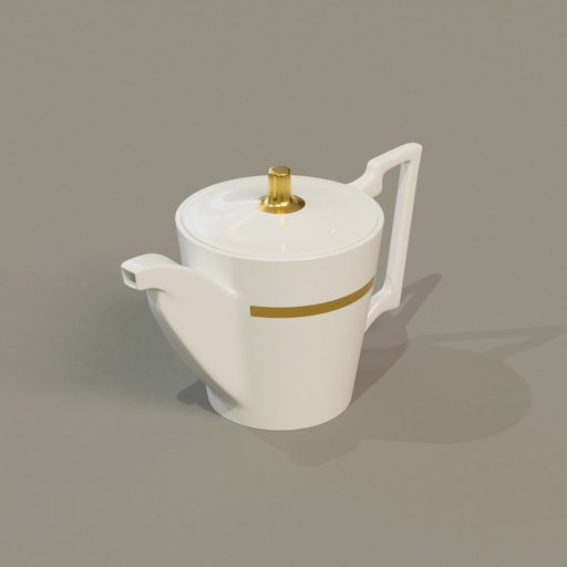 Thumbnail: Tea pot white