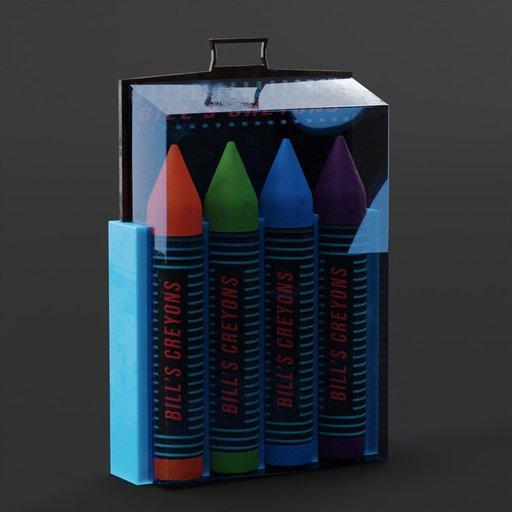Thumbnail: Crayons