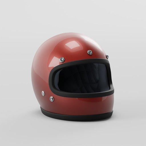 Thumbnail: Vintage Motorcycle Gringo Helmet