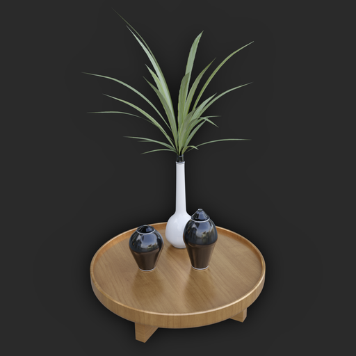 Thumbnail: Small Decorative Table #01