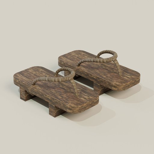 Wooden Samurai Shoes