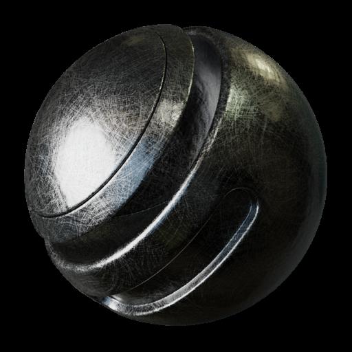 Thumbnail: Circular Scratched metal texture