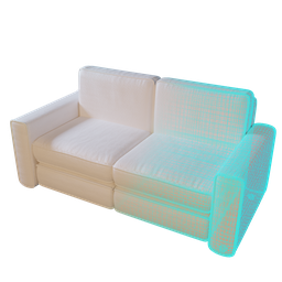 Thumbnail: Sofa 01 (low poly variant)