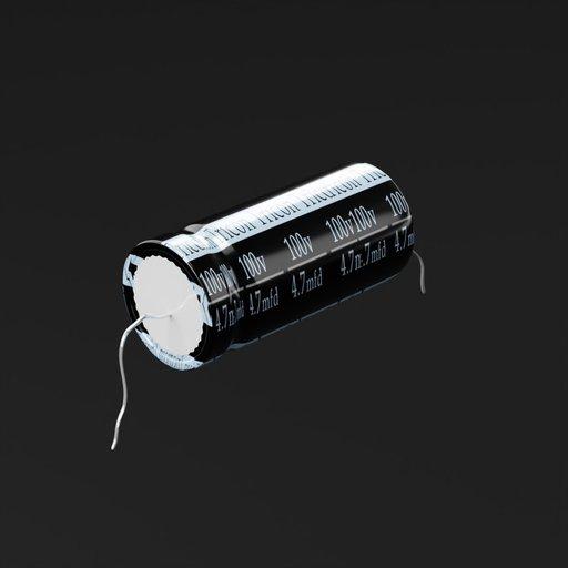 Thumbnail: Electrolytic capacitor4.7mfd